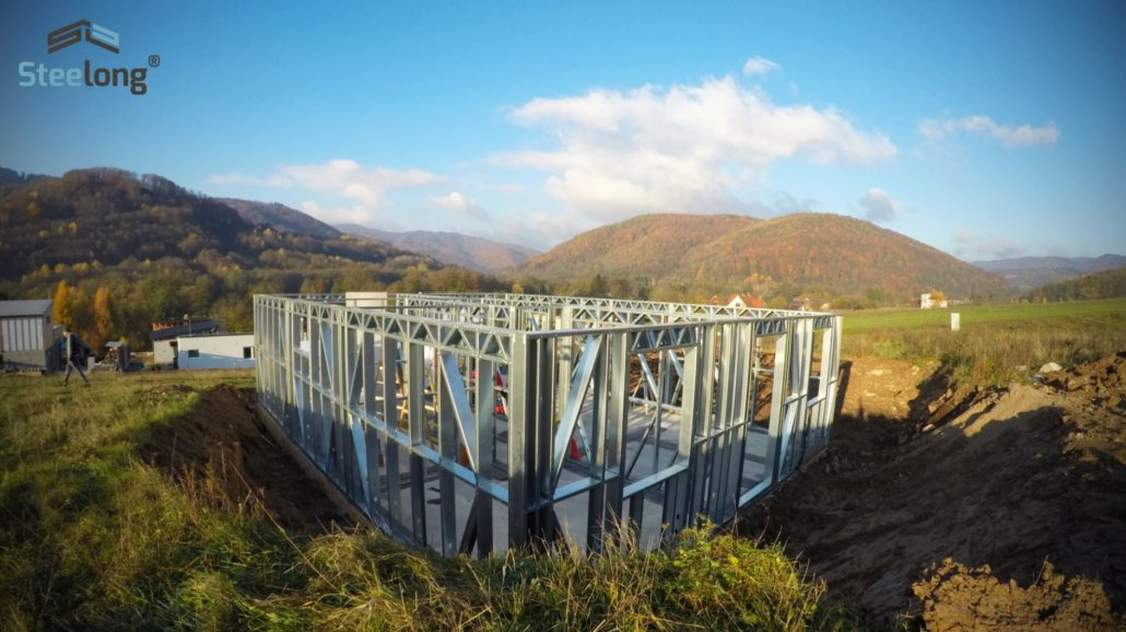 montované domy steelong buildfit